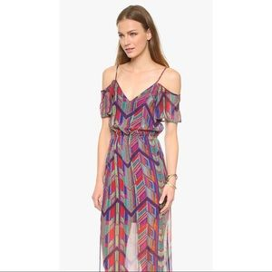 Ella Moss Mazatlan Cold Shoulder Maxi Dress